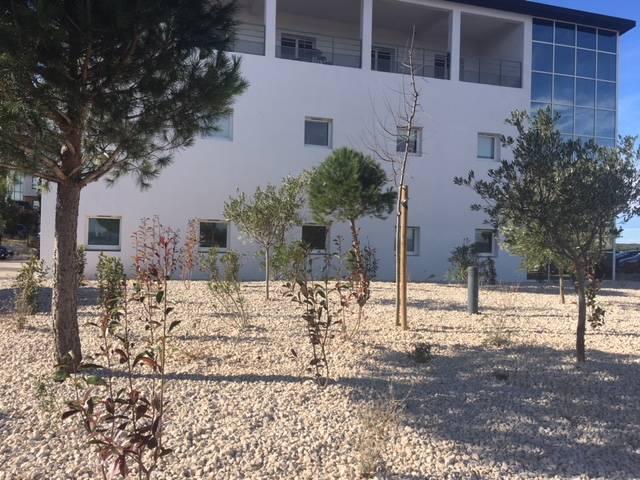 cr ation d 39 espaces verts pour une entreprise sur aix en provence jardinier paysagiste avignon. Black Bedroom Furniture Sets. Home Design Ideas